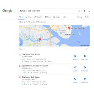 Google My Business Listing | Web Design, Marketing, SEO, Social Media | Nate Chisley Web Pro