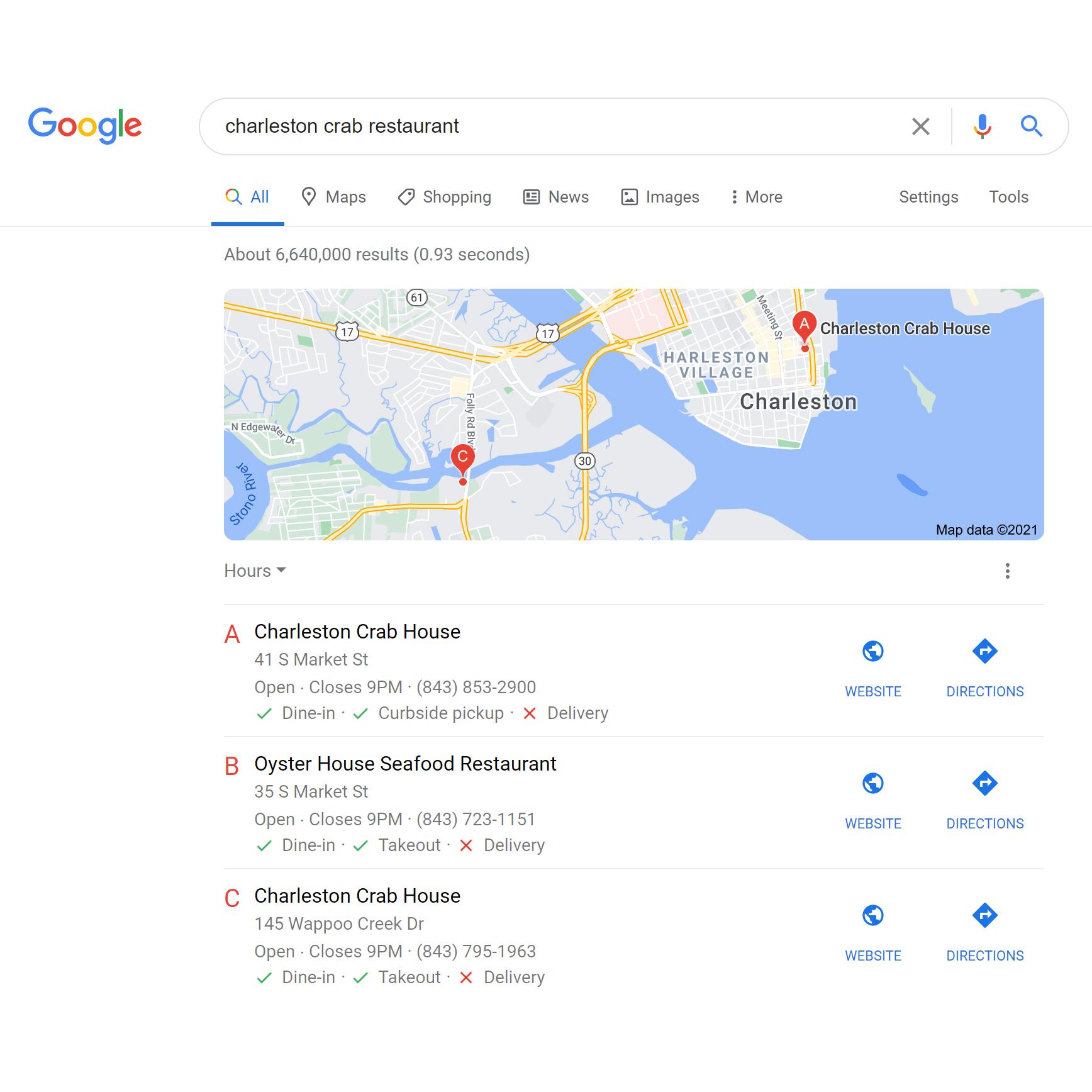 Google My Business Listing   Web Design, Marketing, SEO, Social Media   Nate Chisley Web Pro